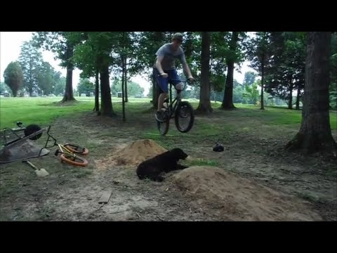 Bmx Dirt Jumping/How To Make Dirt Jump