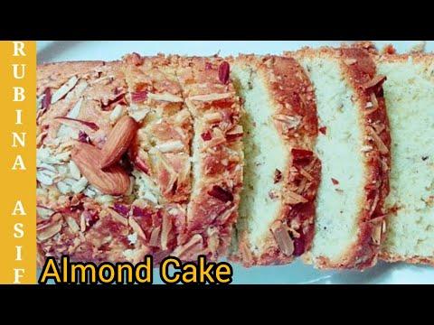 Almond Cake By Rubina Asif