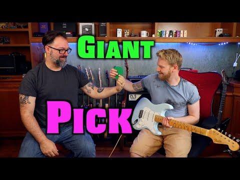 Mini Tone City Pedalboard For Under £200 & Giant Pick Challenge