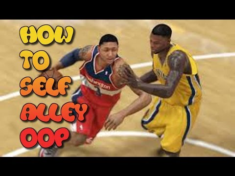 NBA 2K15 How To Do A Self Alley Oop Tips/Tutorials