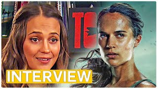 Tomb Raider - Alicia Vikander is the new Lara Croft!