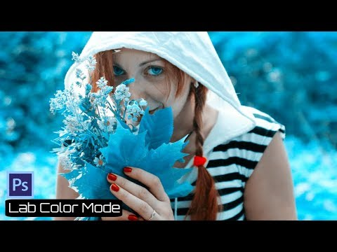 Photoshop Tutorial - How to Create Lab Color Mode in Photoshop