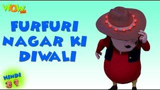 Furfuri Nagar Ki Diwali - Motu Patlu in Hindi - 3D Animation Cartoon for Kids - As on Nickelodeon