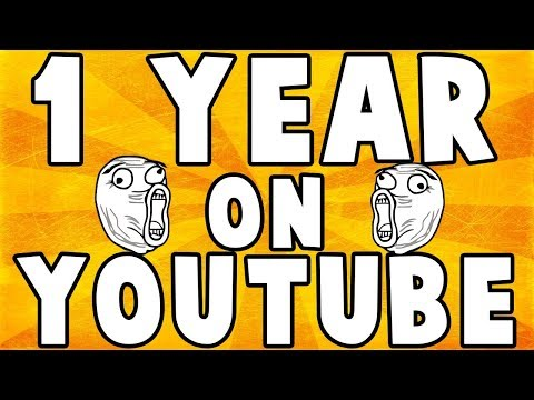 First year on youtube