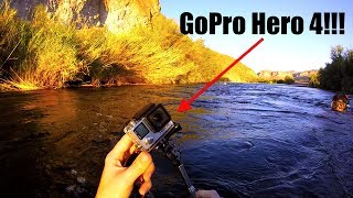 River Treasure: I Found a GoPro Hero 4, Knife, Ring, Sunglasses & more in the River!!! (Snorkeling)