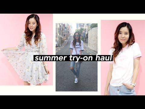☀️KOREAN FASHION TRY-ON HAUL for SUMMER!