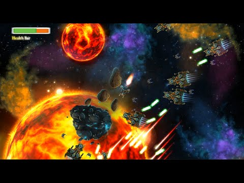 2D Video Game Development - VoidExplorer - First Level Alpha Made with Construct 2