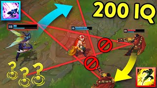 When LOL Players Get CREATIVE... 200 IQ OUTPLAYS MONTAGE (League of Legends)