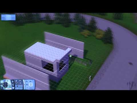 The sims 3 Tutorial - Advanced Roof design