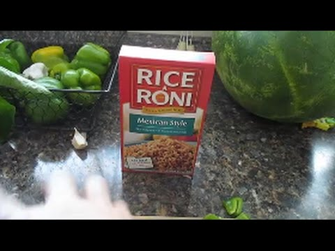 FOOD VLOG//Quick Dinner Idea Using Rice A Roni
