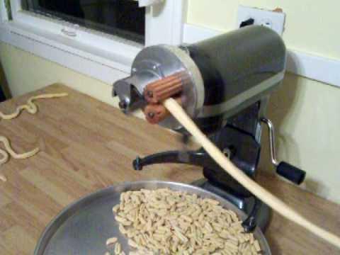 Pt 1 Homemade Cavatelli Using My Home Built KitchenAid Stand Mixer Cavatelli Maker Attachment