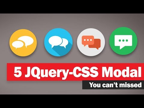 5 JQuery/CSS Modal dialog you can't miss