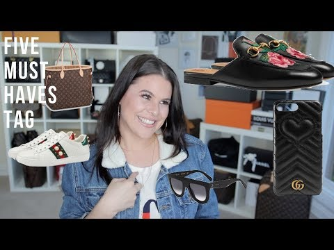 5 LUXURY MUST HAVES IN MY COLLECTION TAG🚨 | Jerusha Couture