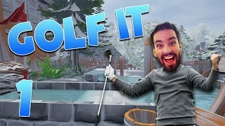 A New Golfing World Of Endless Wonder! (Golf It #1)