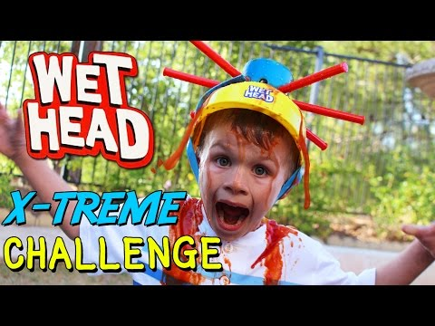 Wet Head Challenge EXTREME!! || Family Game Night