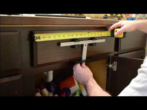 Cabinet Hardware Install