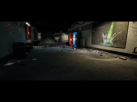 Making of Subway 3ds max Unreal engine tutorial final part