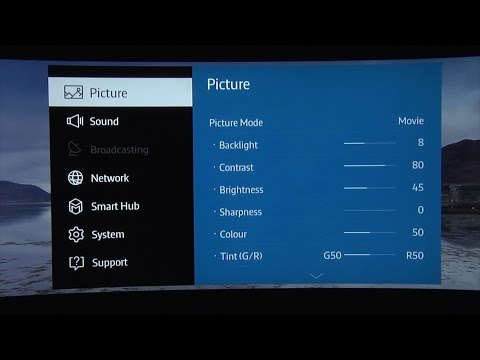 Samsung UE65JS9500 (JS9500) TV Picture Settings tips and tricks