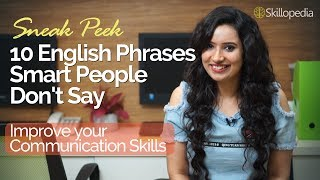 10 English phrases smart people don