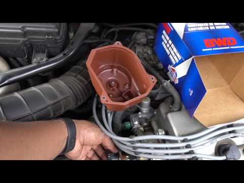 DIY How To Replace Distributor Cap and Rotor on 1998 to 2002 Accord