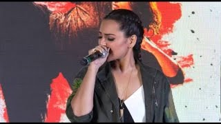 Raj Raj Ke   Akira Song Launch   Sonakshi Sinha Singing