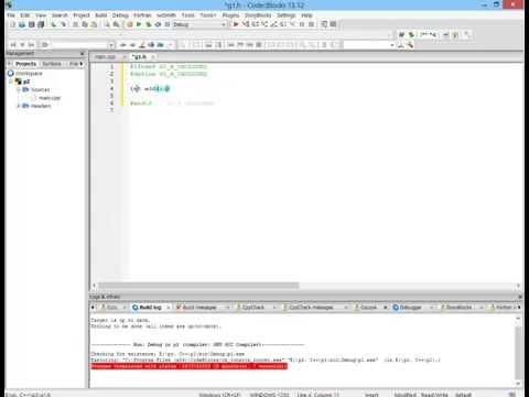Create header file in CodeBlocks