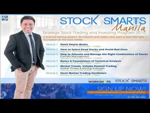 Stock Smarts Workshops 2016 in Manila