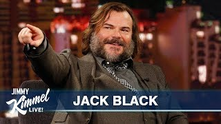 Jack Black on Turning 50, Jumanji, Tenacious D & Jack White