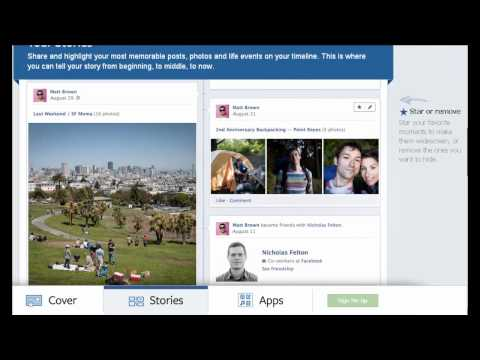 Facebook's New Timeline Profile Layout (200th Video)