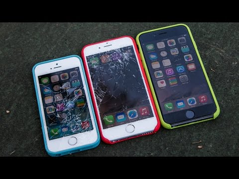 iPhone 6 Drop Test With Apple Cases!