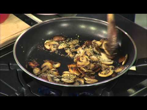 Mushroom Mozzarella Melt