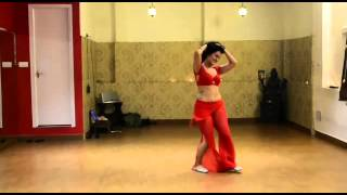 Belly dancing on indian love song