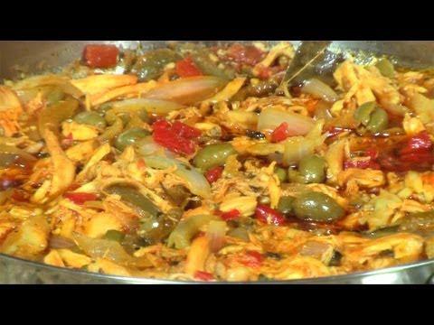 Ropa Vieja de Pollo - Cuban Chicken Ropa Vieja