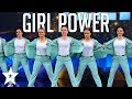 POWERFUL Female Dance Group On Denmark39s Got Talent 2019 Got Talent Global