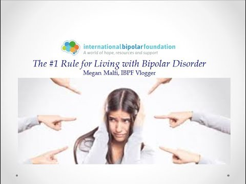The #1 Rule for Living With Bipolar Disorder