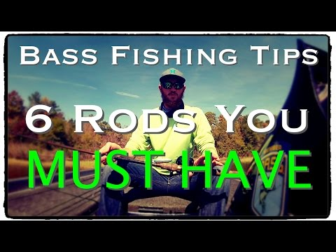 Bass Fishing Rods You MUST Have - Bass Fishing Tips and Techniques