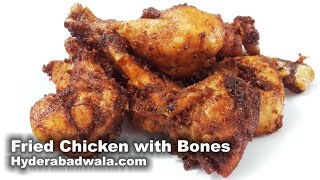 Deep Fried Chicken Recipe Video – How to Make Deep Fried Chicken with Bones – Easy & Simple