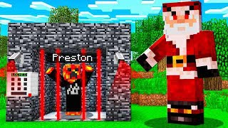 NEVER TROLL SANTA in MINECRAFT... (or this happens)