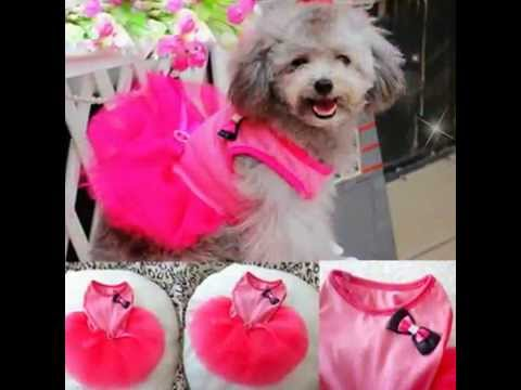 Urparcel Pet Cat Princess Tutu Dress Bow Bubble Skirt Puppy Clothes Dog Dress Apparel Pink