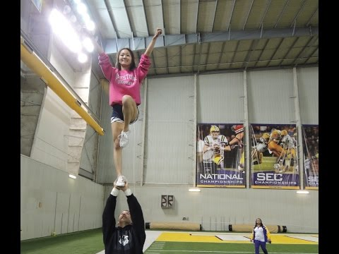 Cheer - How To Become An Advanced Level 5 Flyer At Home