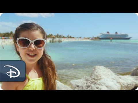 Sophia Grace - Disney Cruise Line Vacation   Castaway Cay Overview