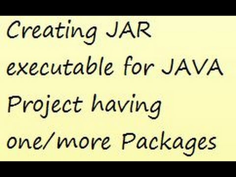 JAR file creation with cmd (JAVA projects with multiple Packages)