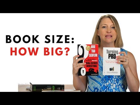 Book Size: How Big Should Yours Be? (Practical Examples)