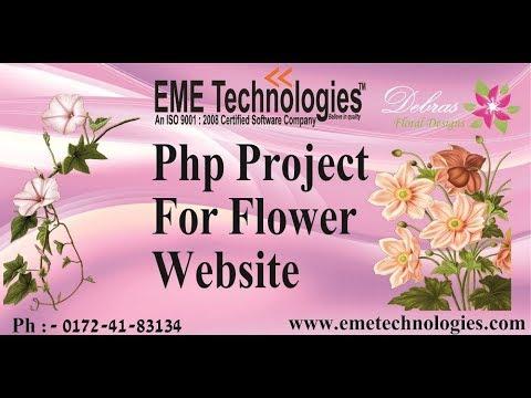 Flower Website | Php