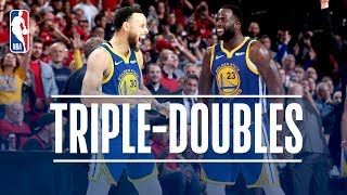 Stephen Curry & Draymond Green Make Triple Double HISTORY | May 20, 2019