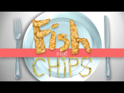 English for BAMFs - FISH AND CHIPS
