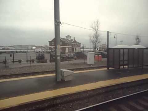 New London, CT Amtrak Train Station Stop - Northeast Corridor