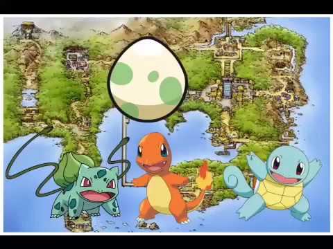 How to Bulbasaur,Charmander and Squirtle egg on fire red and leaf green