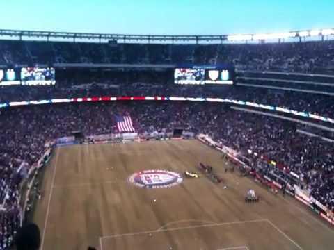 US v Argentina: National Anthem