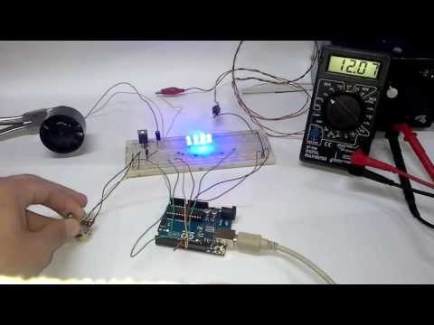 Arduino -  DC motor 12v speed control